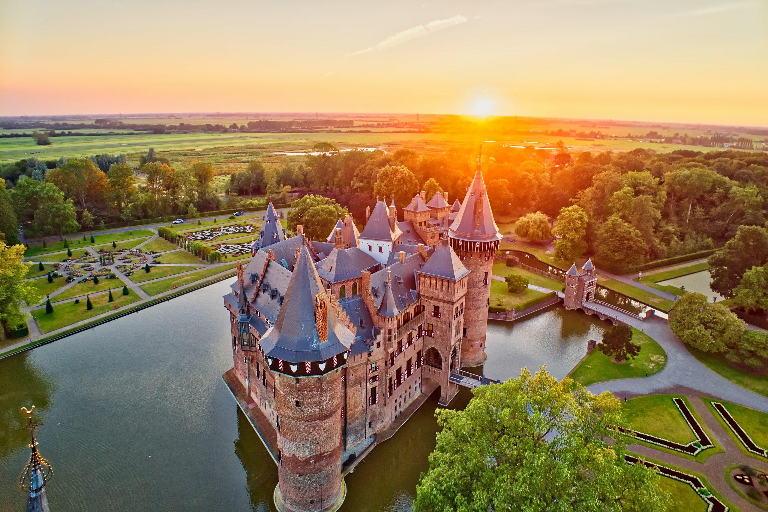 châteaux aux Pays-Bas